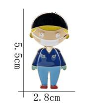 1pc Figure Shaped Brooch