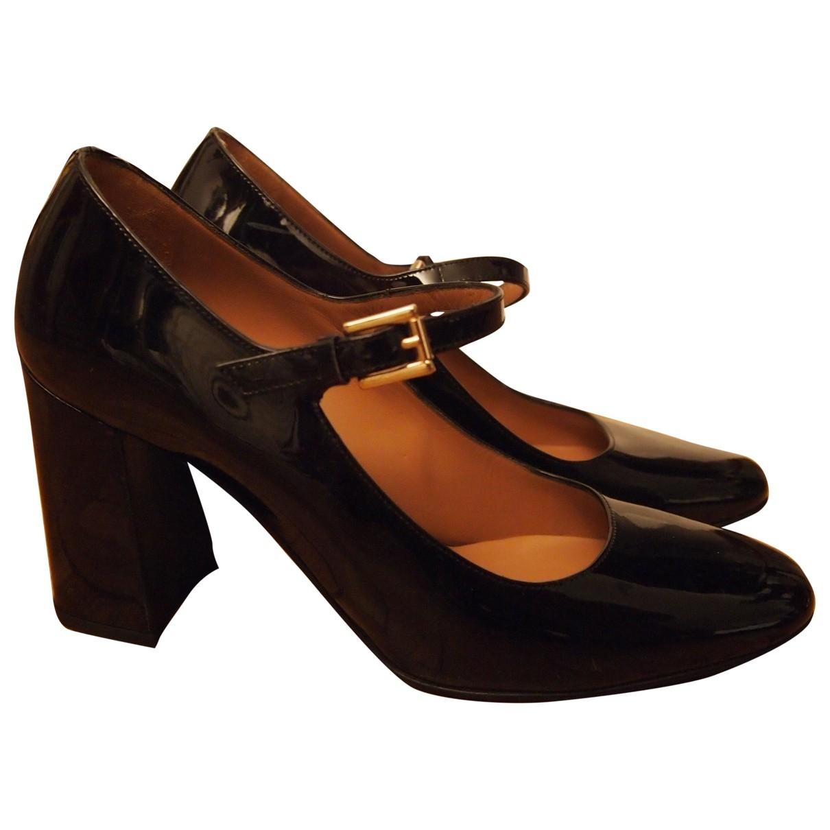 Fratelli Rossetti - Escarpins   pour femme en cuir verni - noir