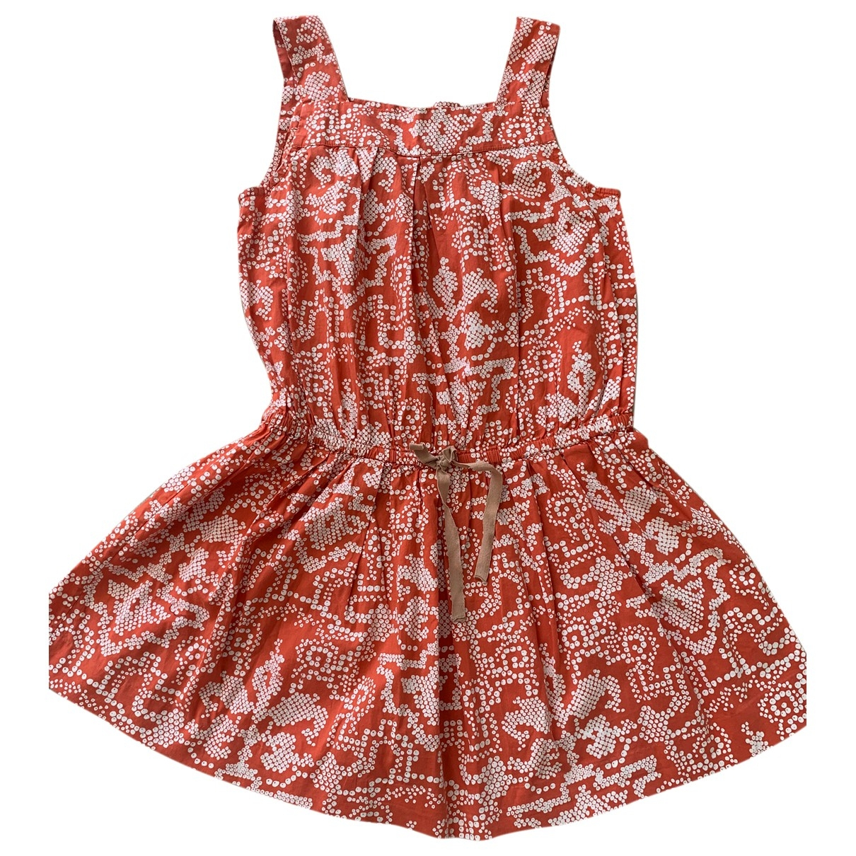 Bonpoint \N Orange Cotton dress for Kids 6 years - up to 114cm FR