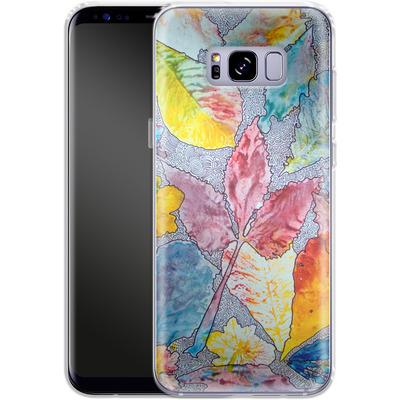 Samsung Galaxy S8 Plus Silikon Handyhuelle - Spring Drawing Meditation von Kaitlyn Parker