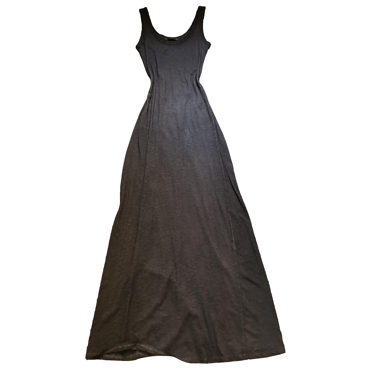 Non Signé / Unsigned \N Khaki Cotton dress for Women M International