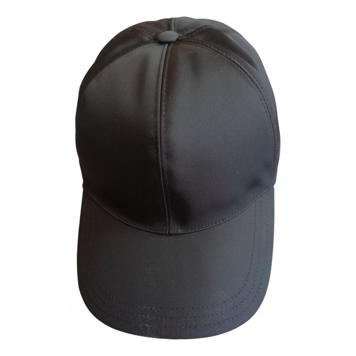 Prada - Chapeau & Bonnets   pour homme en coton - noir