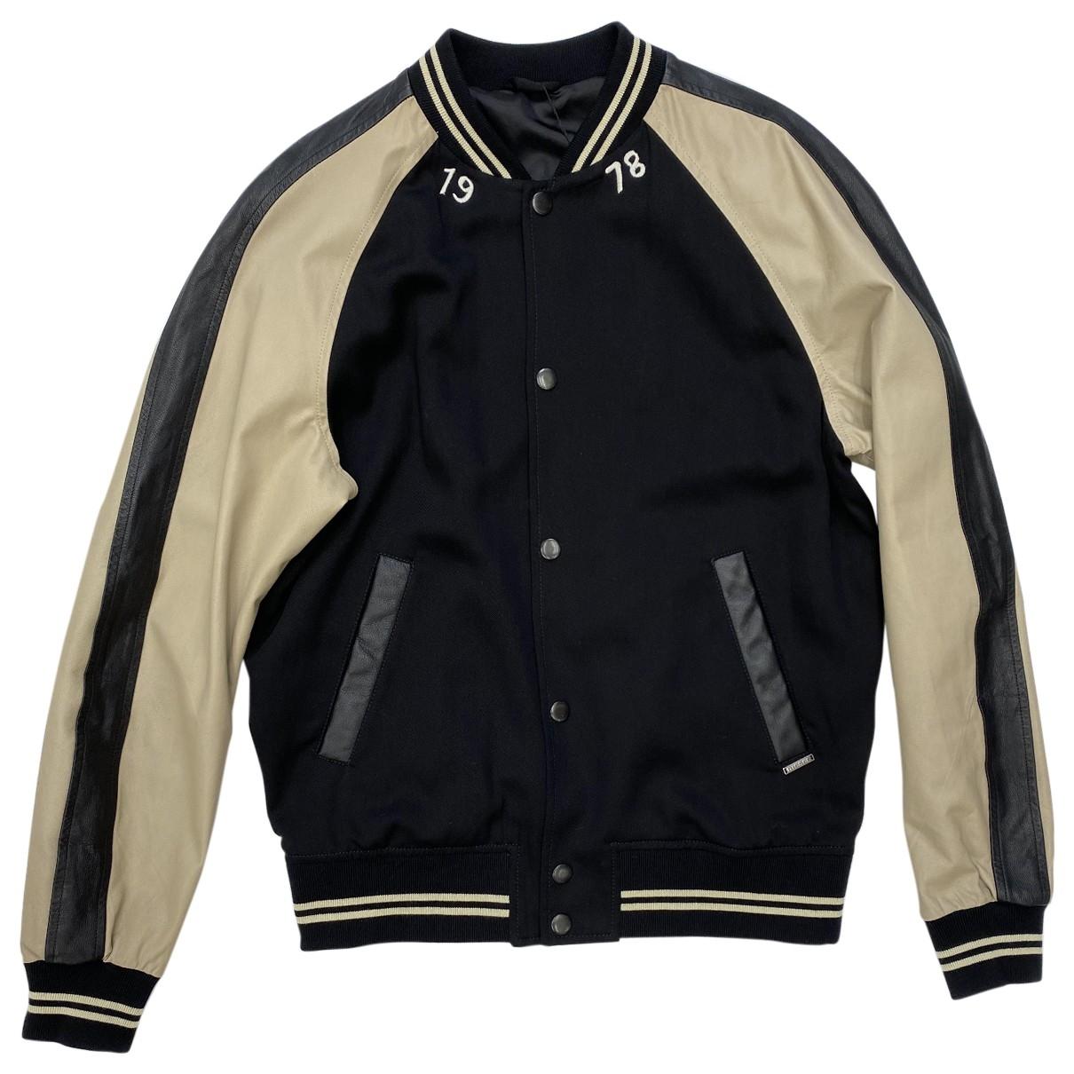 Diesel \N Black Leather jacket  for Men L International