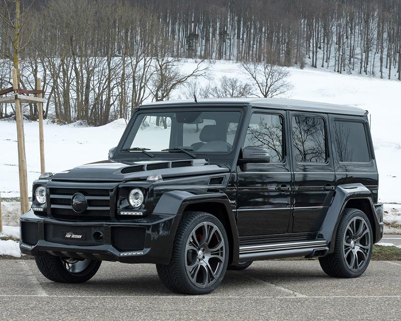 Fab Design FAB-W463-CF Shahin Full Carbon Body Kit Mercedes-Benz G550 09-15