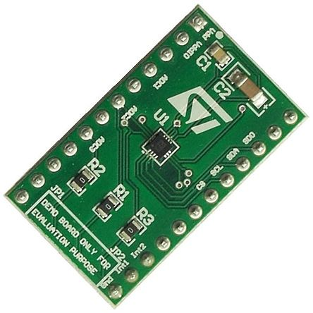 STMicroelectronics STEVAL-MKI135V1, DIL24 Socket Accelerometer Sensor Adapter Board for STEVAL-MKI135V1
