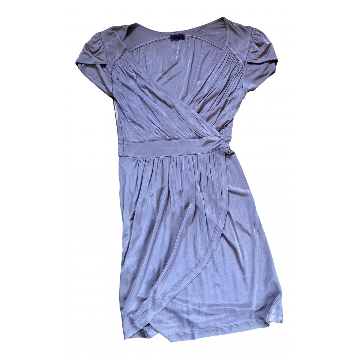 Miss Selfridge \N Kleid in  Metallic Polyester