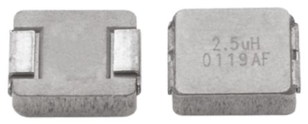 Vishay , IHLP-2525AH-01, 2225 (5664M) Shielded Wire-wound SMD Inductor with a Metal Composite Core, 3.3 μH ±20% (5)