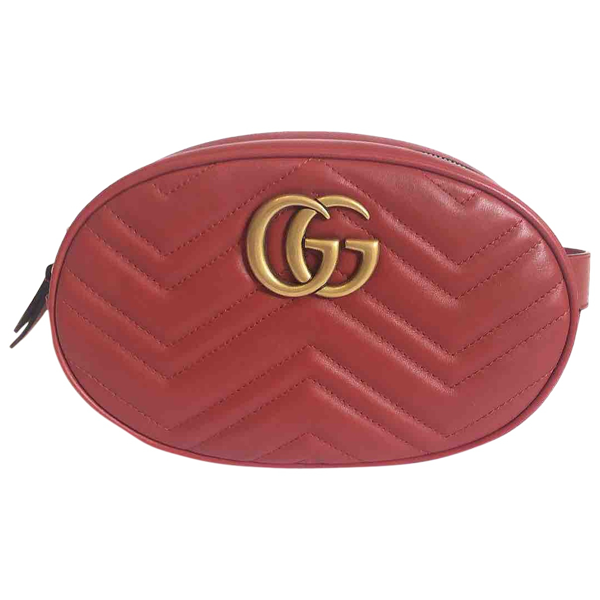 Gucci Marmont Red Leather Clutch bag for Women \N