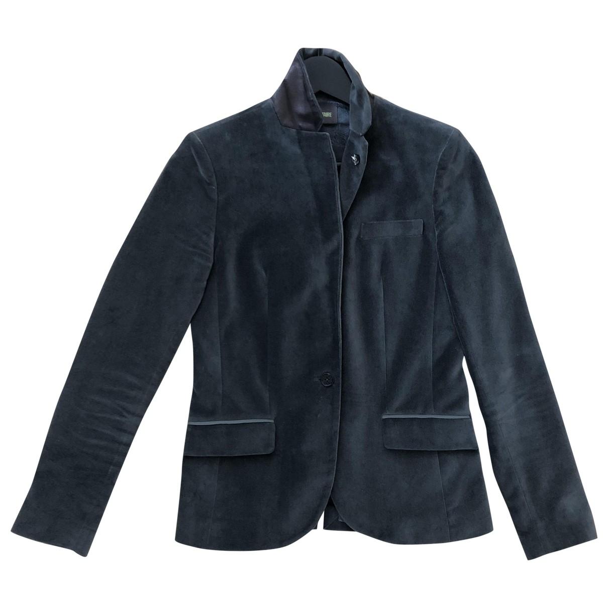 Zadig & Voltaire \N Grey Velvet jacket for Women 40 IT