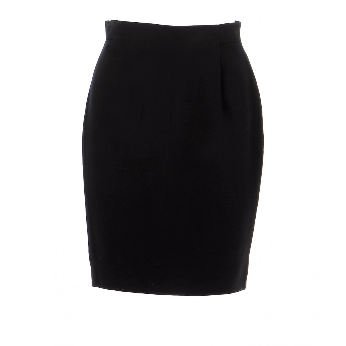 Givenchy - Jupe   pour femme en laine - noir