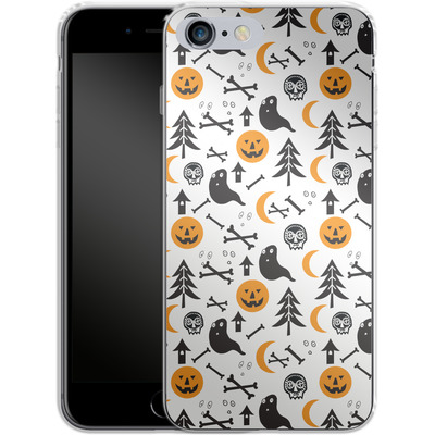 Apple iPhone 6 Plus Silikon Handyhuelle - Halloween Mix von caseable Designs
