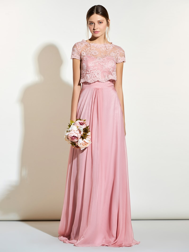 Ericdress Sweetheart Bridesmaid Dress With Lace Jacket
