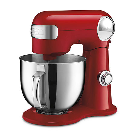 Cuisinart Precision Master 5.5-Quart Stand Mixer, One Size , Red