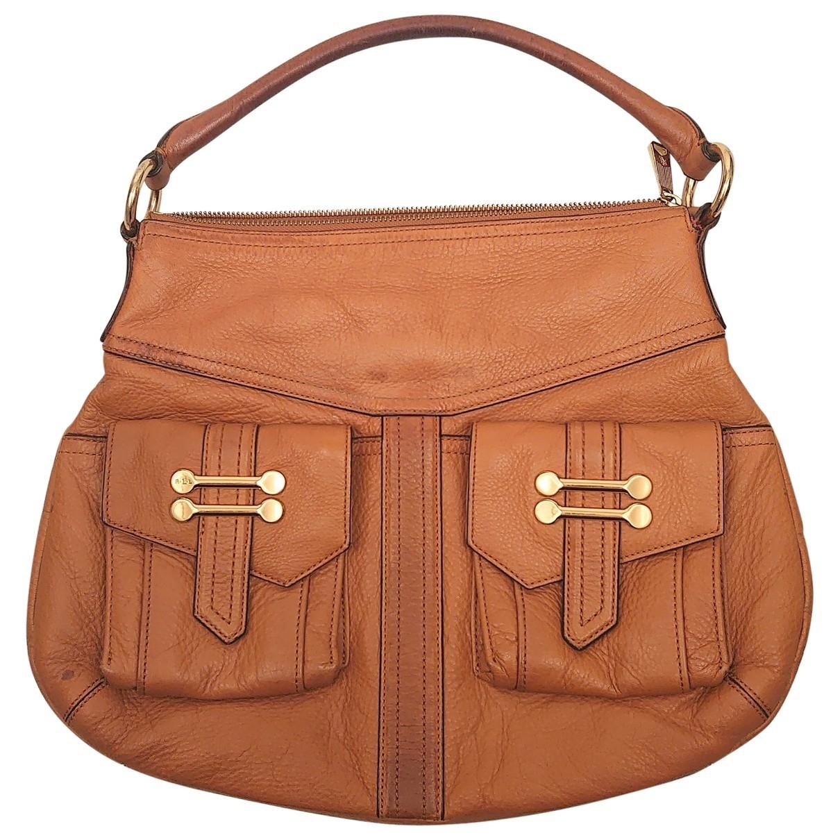 Lauren Ralph Lauren \N Handtasche in Leder