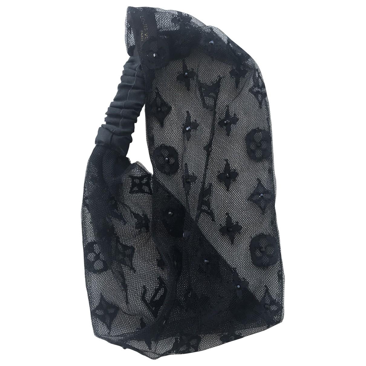 Louis Vuitton - Foulard   pour femme en coton - noir