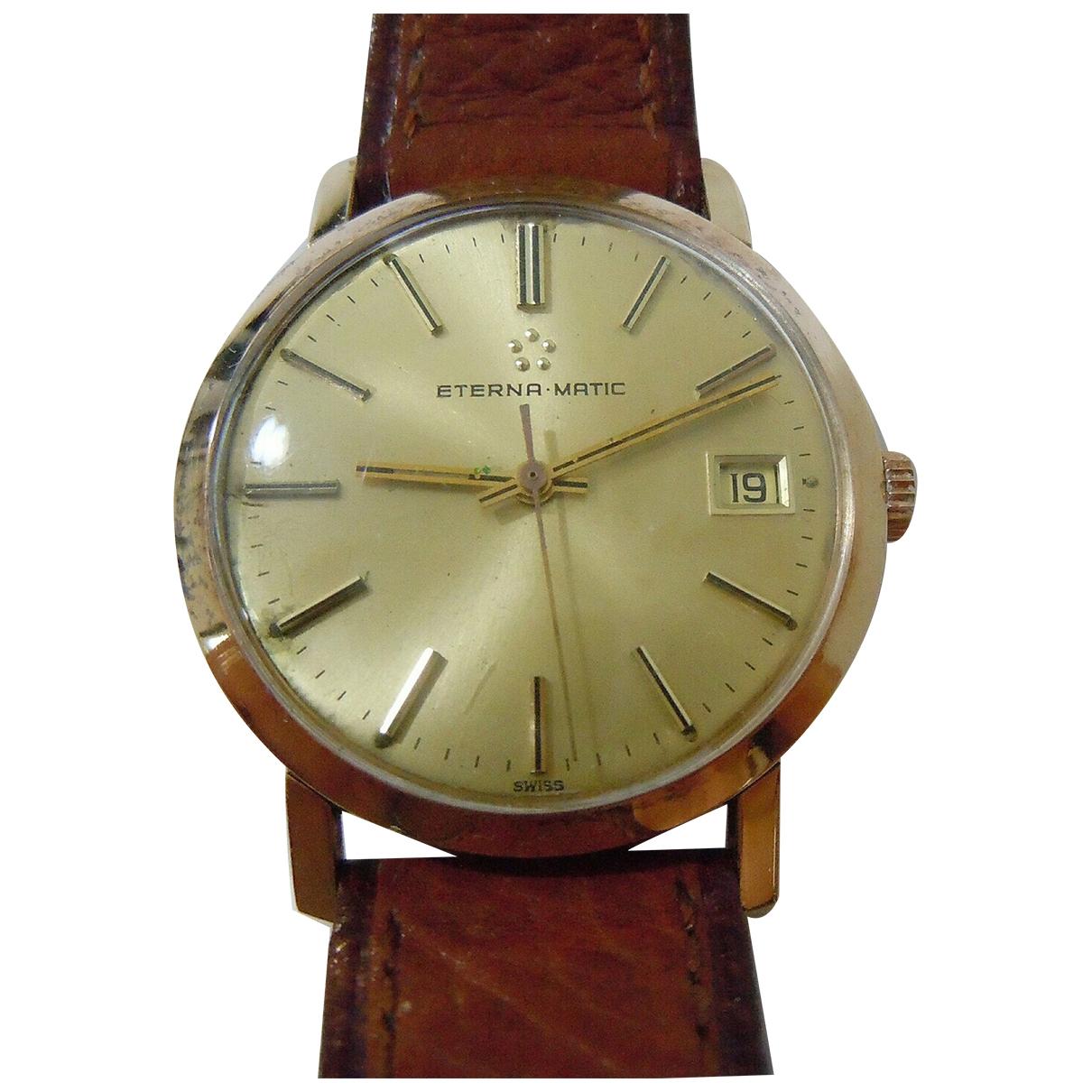 Eternamatic \N Uhr in  Gold Gelbgold