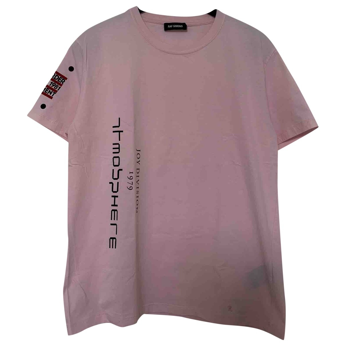 Camiseta Raf Simons