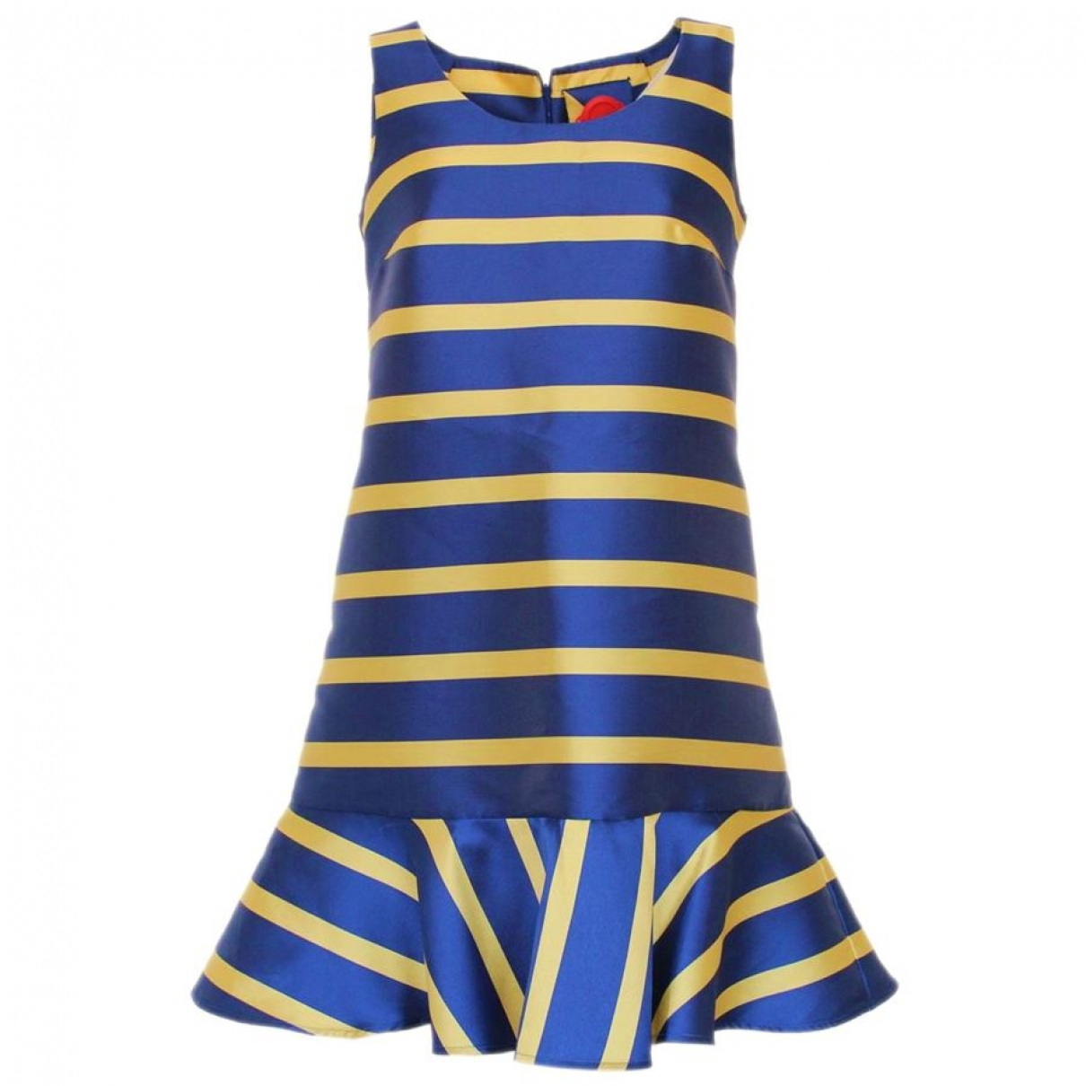 Non Signé / Unsigned \N Blue Silk dress for Women 42 IT