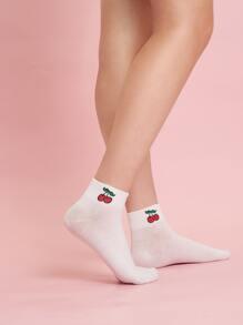 4pairs Unicorn Pattern Socks