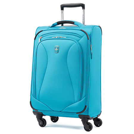 Atlantic Ultra Lite 21 Inch Lightweight Luggage, One Size , Blue