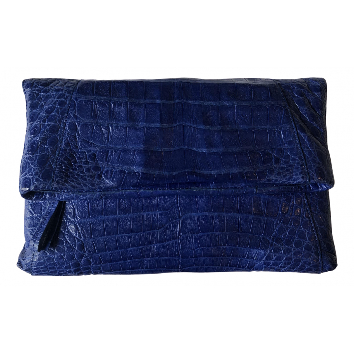 Nancy Gonzalez N Blue Crocodile Clutch bag for Women N