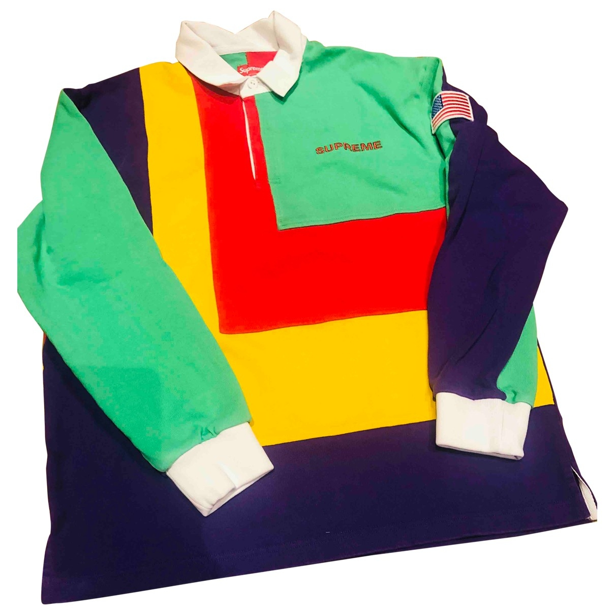 Polo en Algodon Multicolor Supreme