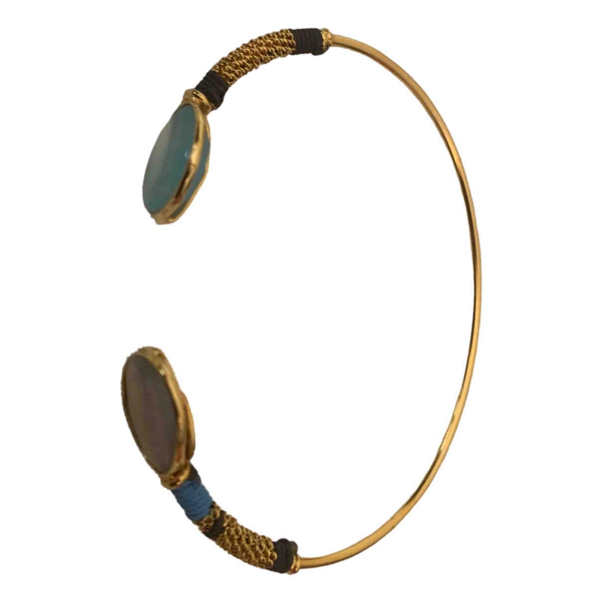 Gas - Bracelet Duality pour femme en metal - dore