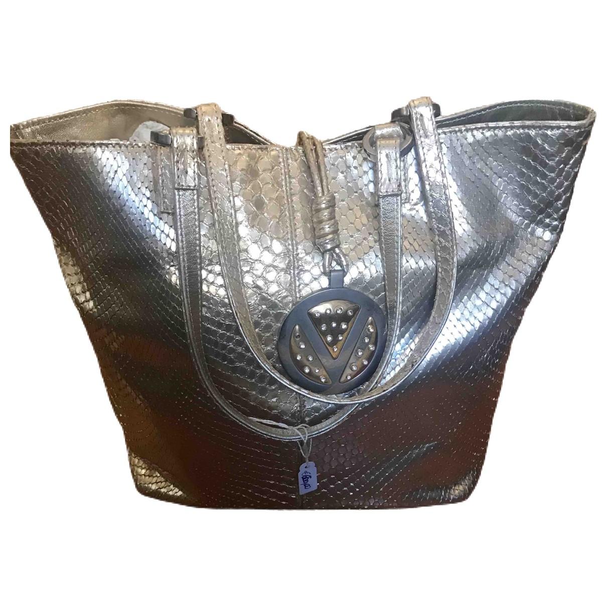 Valentino Garavani \N Handtasche in  Gold Python