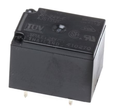 Panasonic , 24V dc Coil Non-Latching Relay SPDT, 5A Switching Current PCB Mount
