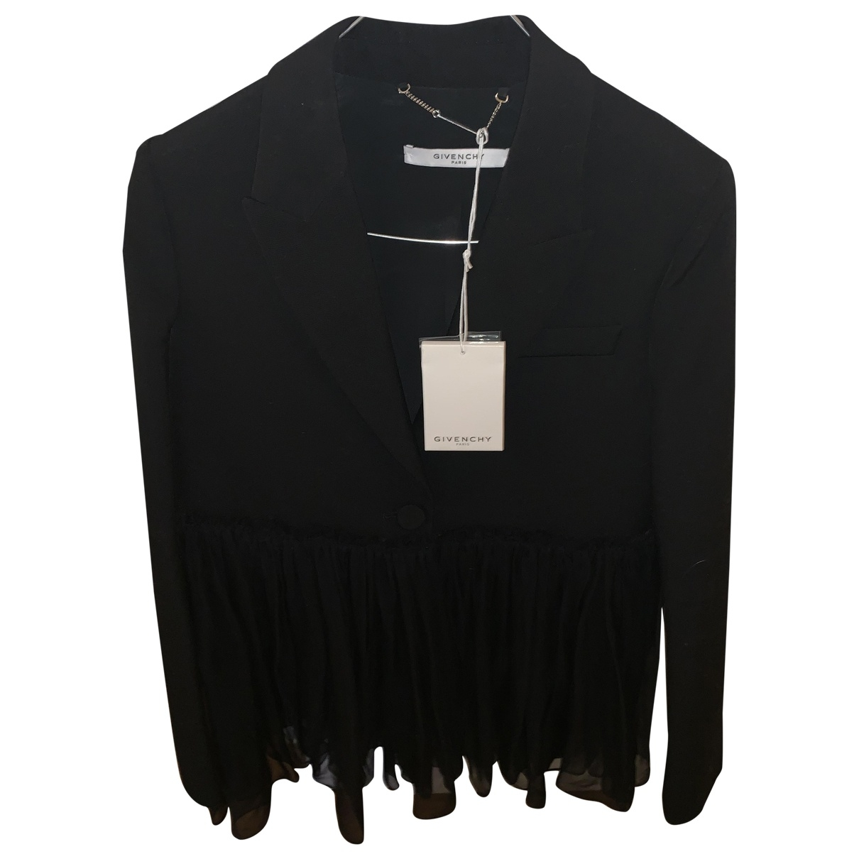 Givenchy \N Black Cotton jacket for Women 36 FR