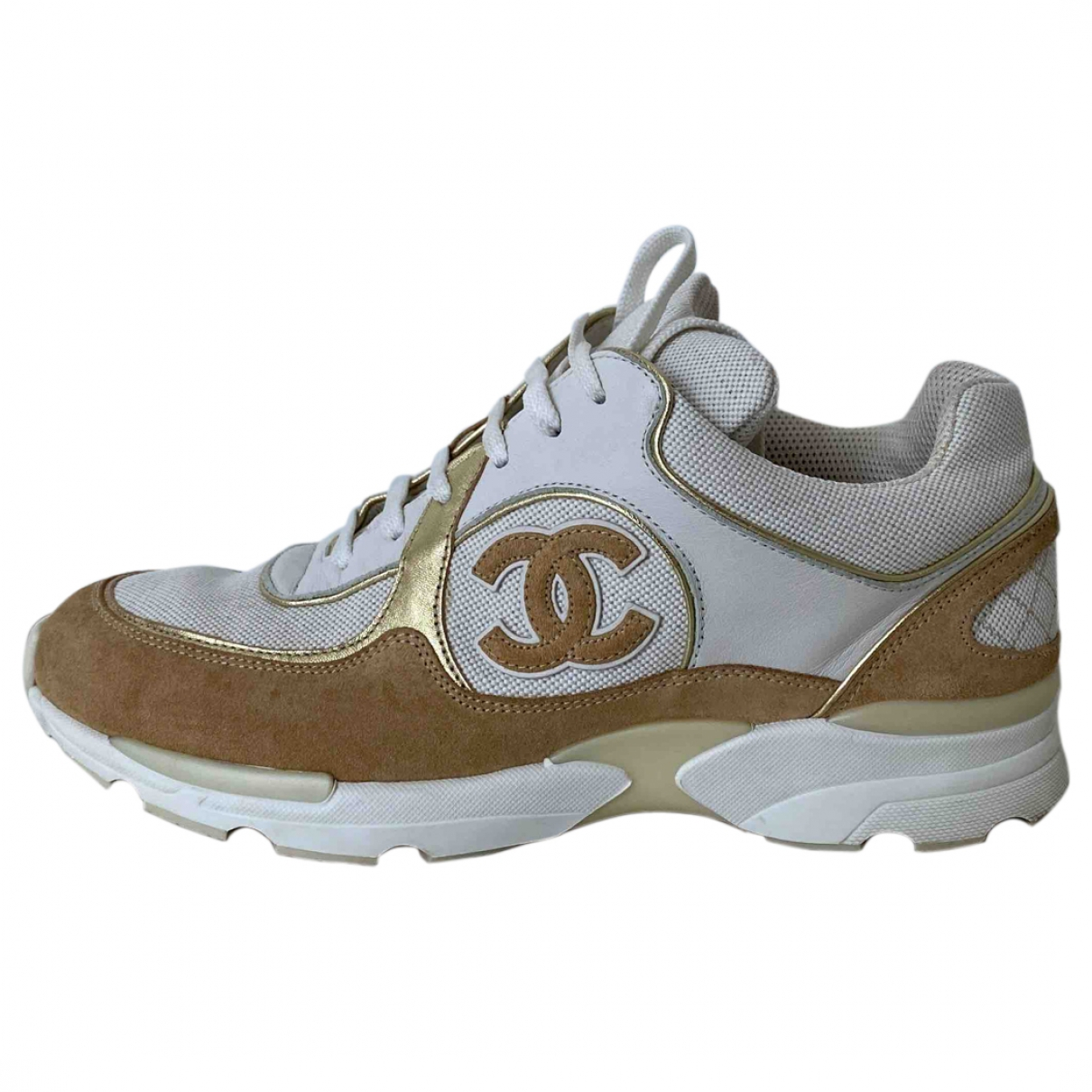 Chanel \N Multicolour Leather Trainers for Women 38 EU