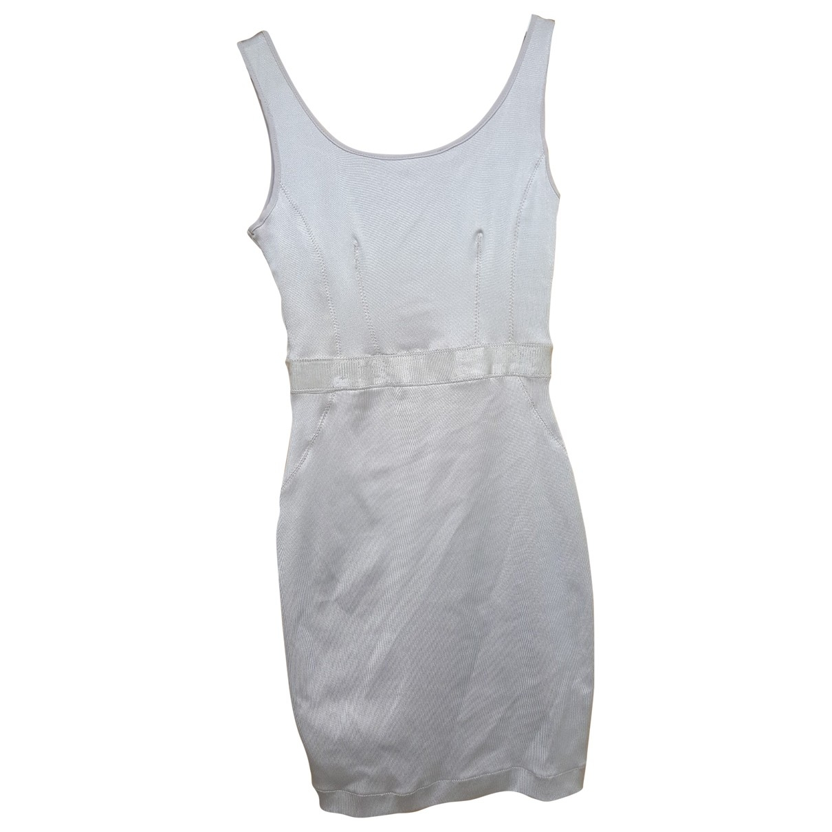 Mango \N Kleid in  Metallic Polyester