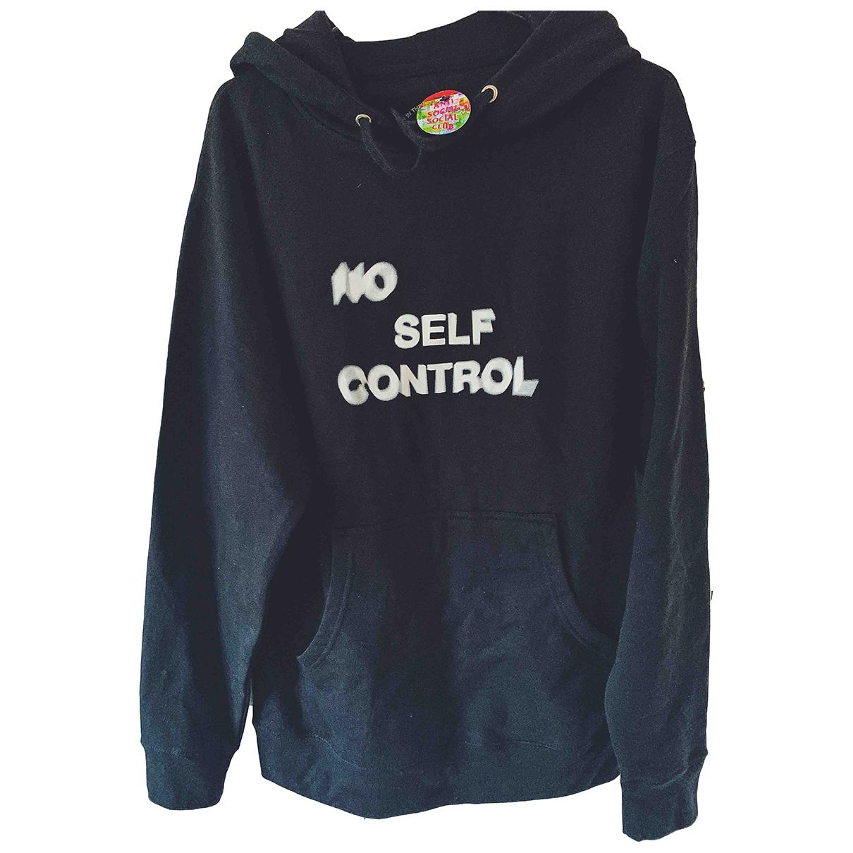 Anti Social Social Club \N Pullover.Westen.Sweatshirts  in  Schwarz Baumwolle