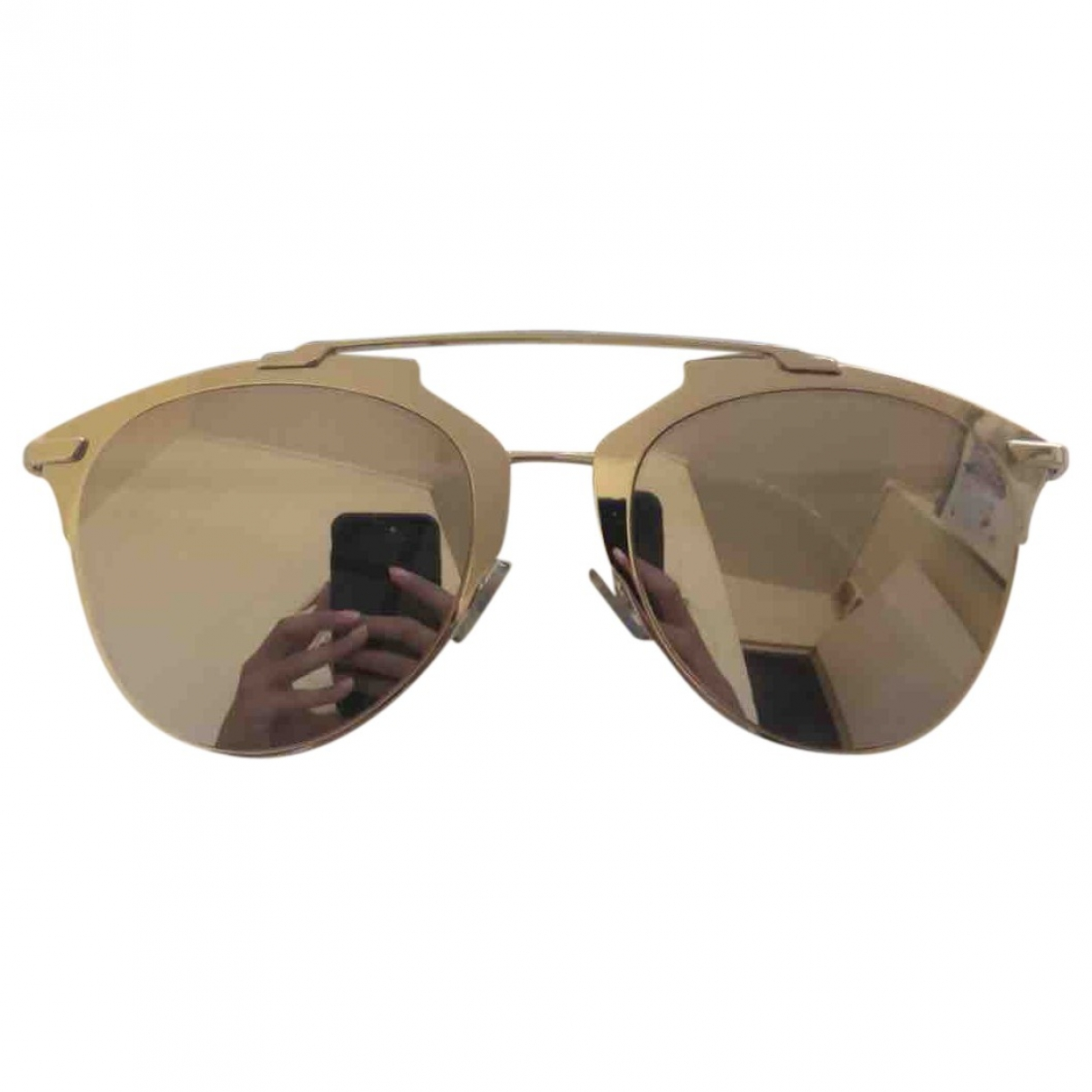 Dior Reflected Sonnenbrillen in  Silber Metall