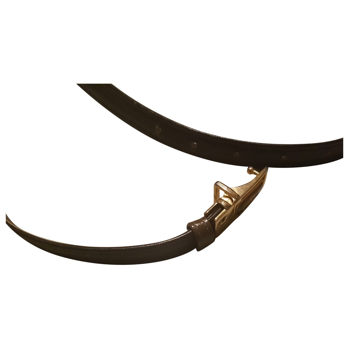 Giorgio Armani \N Brown Leather belt for Men 100 cm