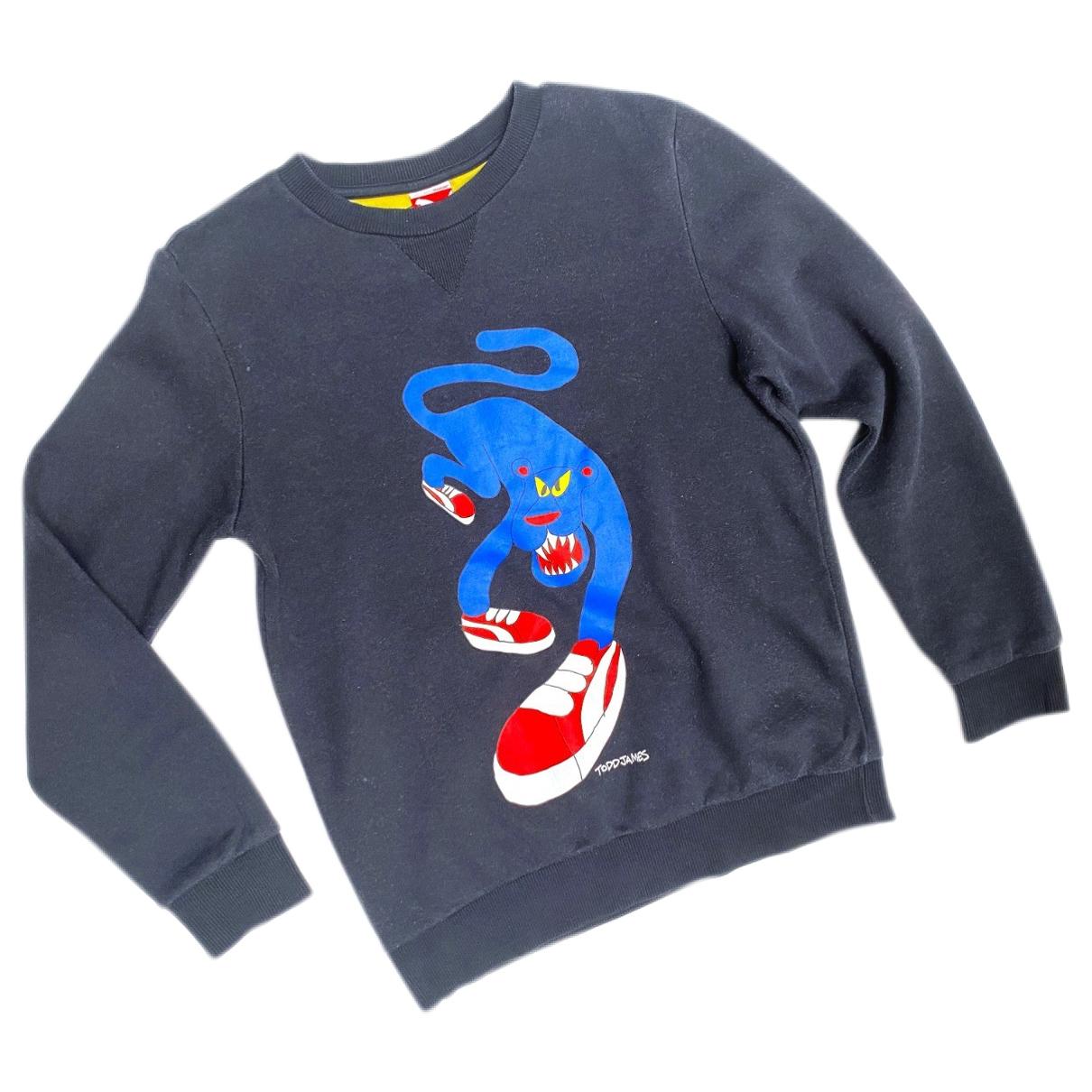 Puma \N Pullover.Westen.Sweatshirts  in  Schwarz Baumwolle
