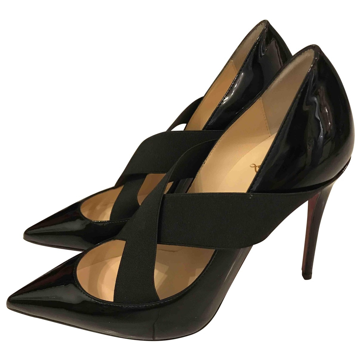 Tacones Simple pump de Charol Christian Louboutin