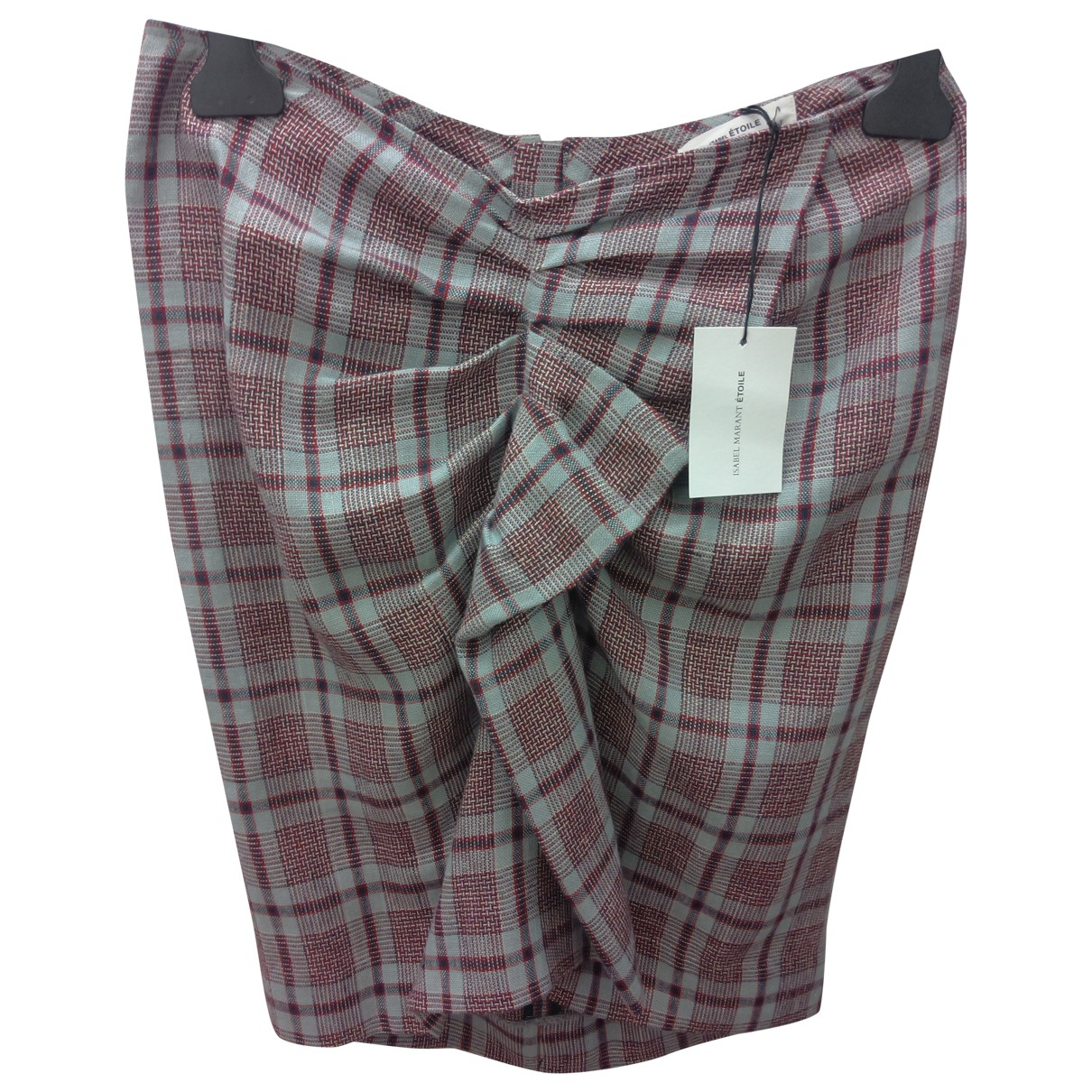 Isabel Marant Etoile \N Grey Linen skirt for Women 40 FR