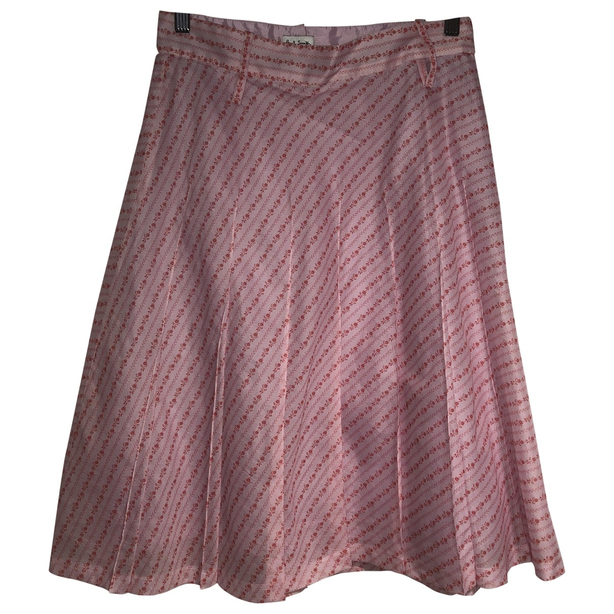 Paul Smith \N Pink Cotton skirt for Women 44 IT