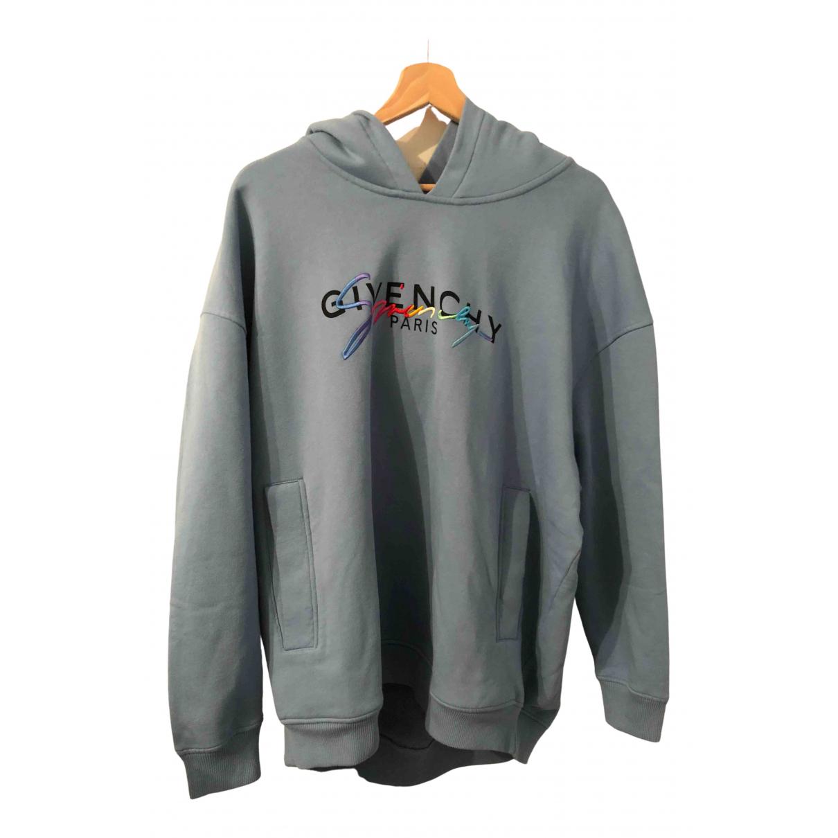 Givenchy N Blue Cotton Knitwear & Sweatshirts for Men XS International