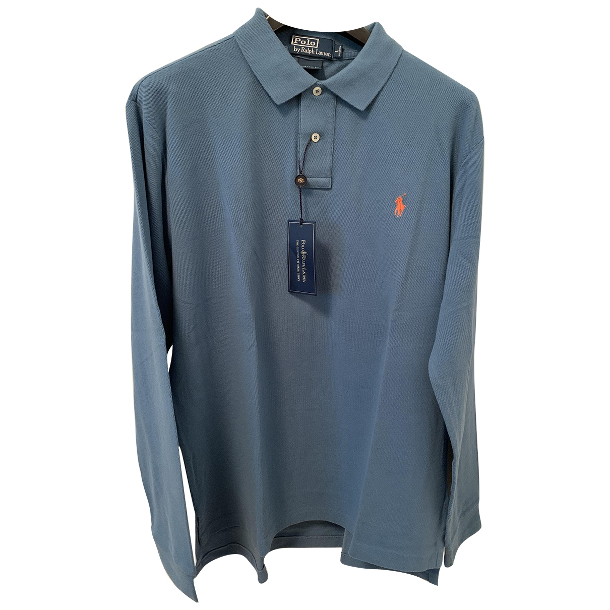 Polo Ralph Lauren Polo classique manches longues Poloshirts in  Marine Baumwolle