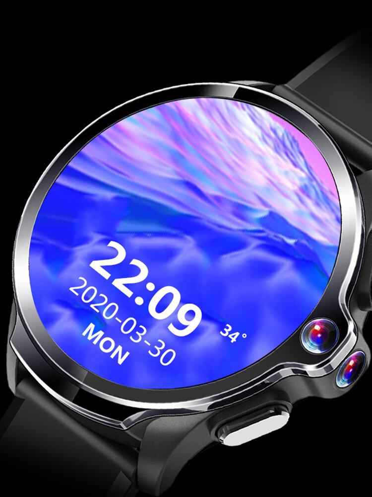 AllCall Awatch GT Face Recoginition Dual Chip System 3G+32G Dual Cameras 1260mAh Big Battery 4G-LTE Watch Phone