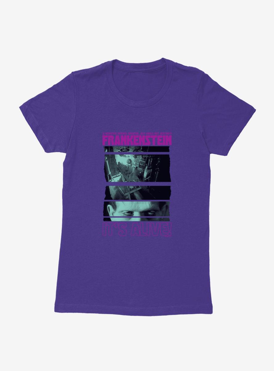 Universal Monsters Frankenstein It's Alive Womens T-Shirt