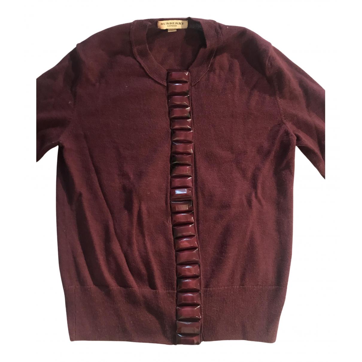 Burberry N Purple Wool Knitwear for Women S International
