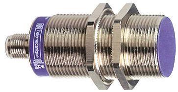 Telemecanique Sensors M30 x 1.5 Inductive Sensor - Barrel, PNP-NC Output, 15 mm Detection, IP69K, Cable Terminal