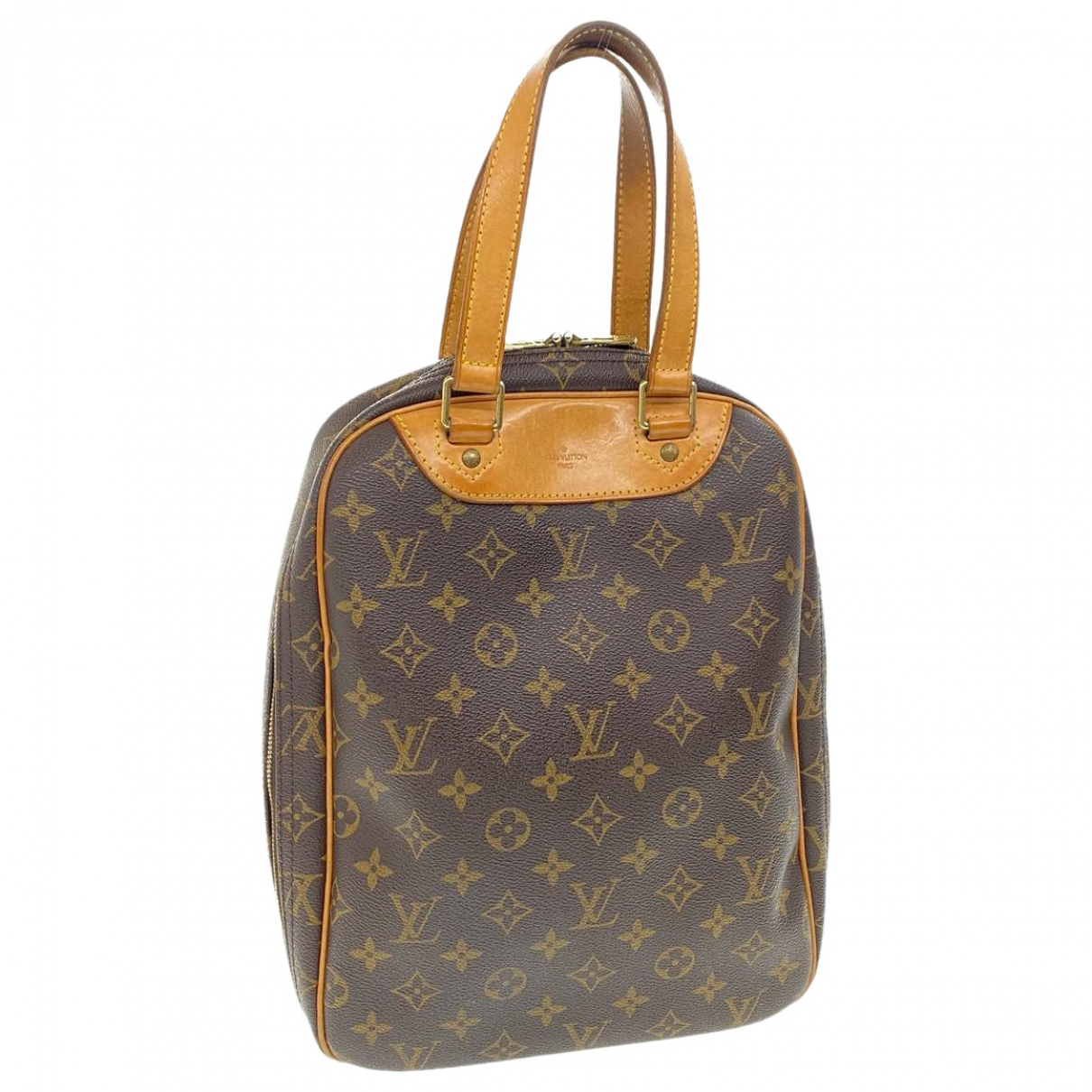 Louis Vuitton - Sac a main Excursion  pour femme en toile - marron