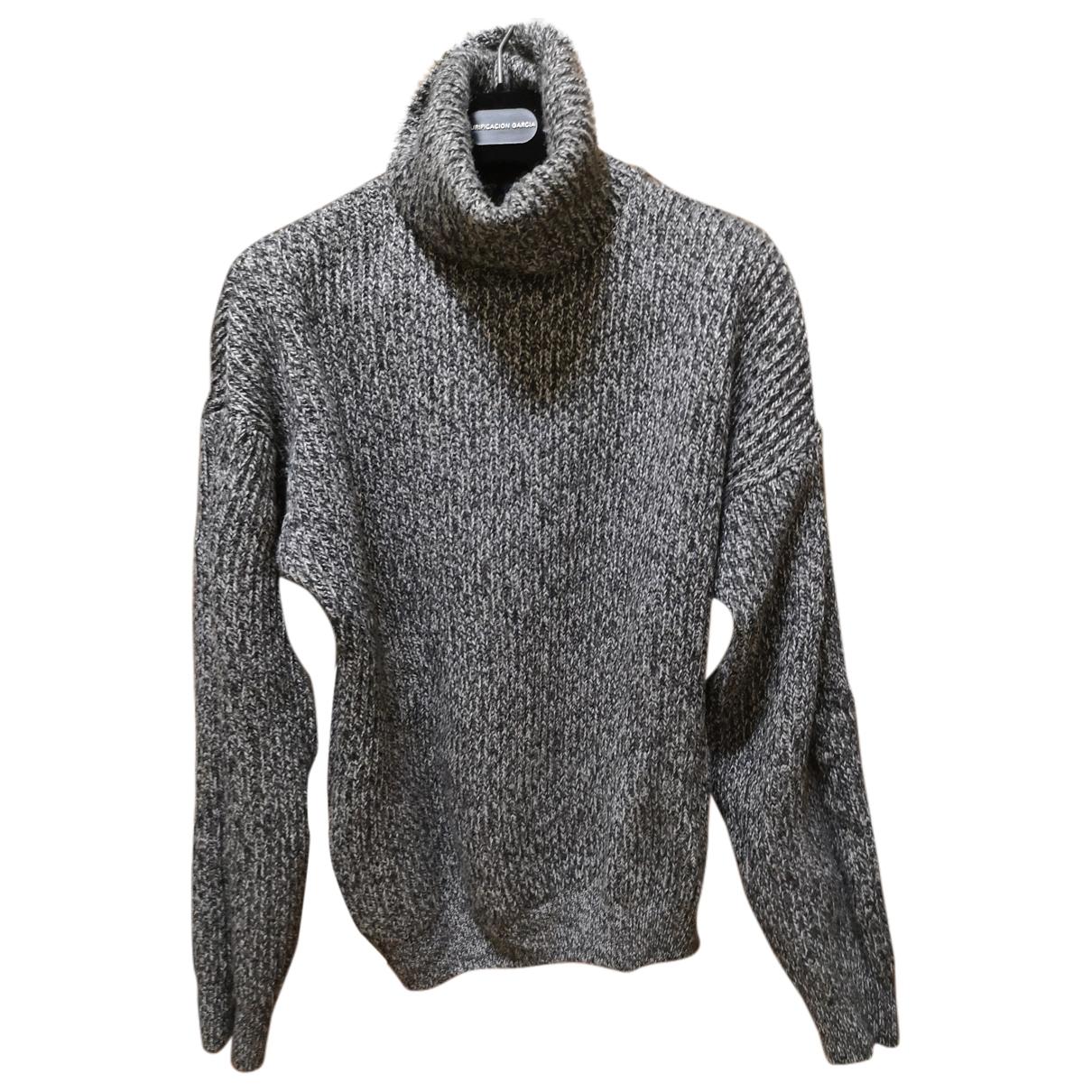 Chevignon \N Pullover in  Grau Wolle