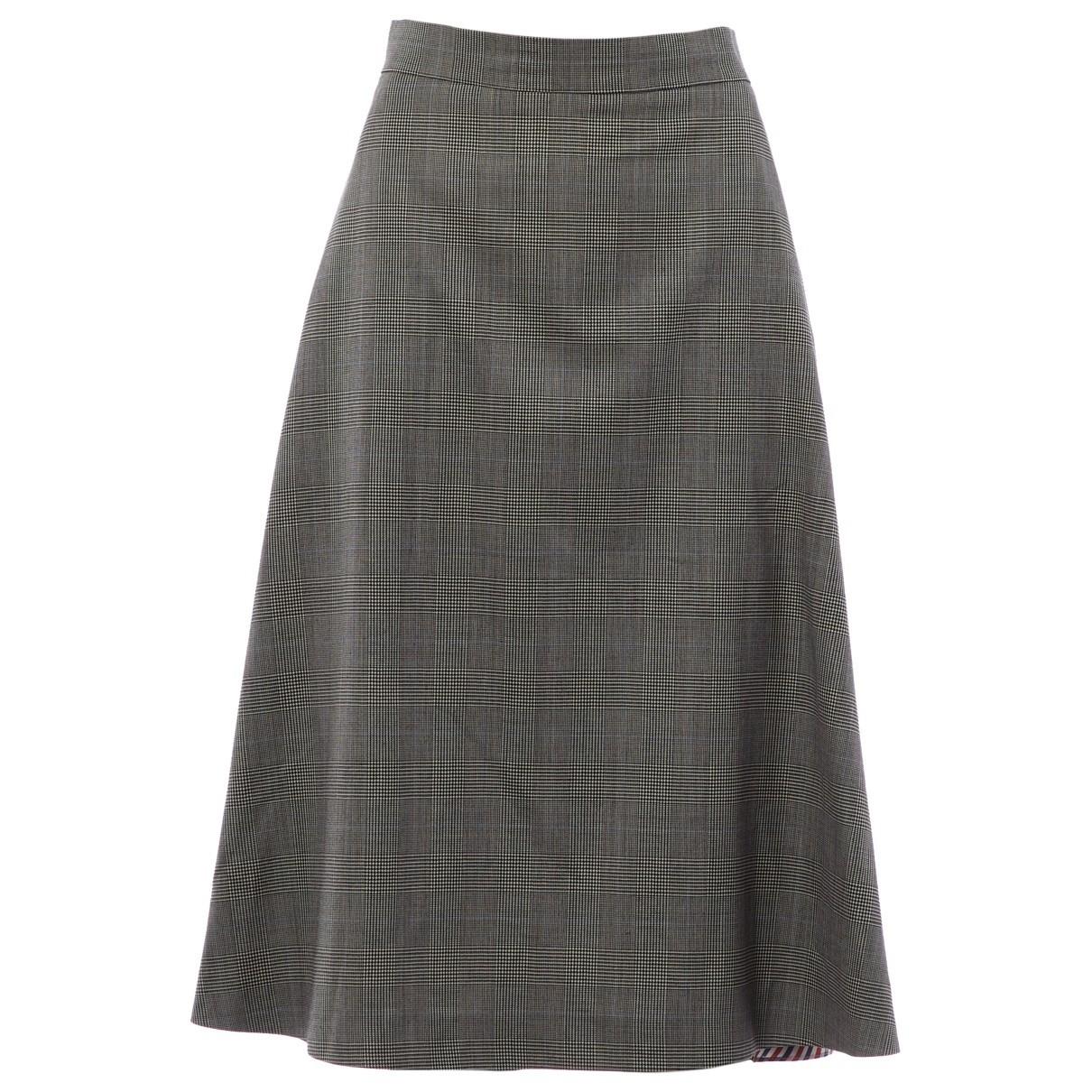Falda midi de Lana Thom Browne