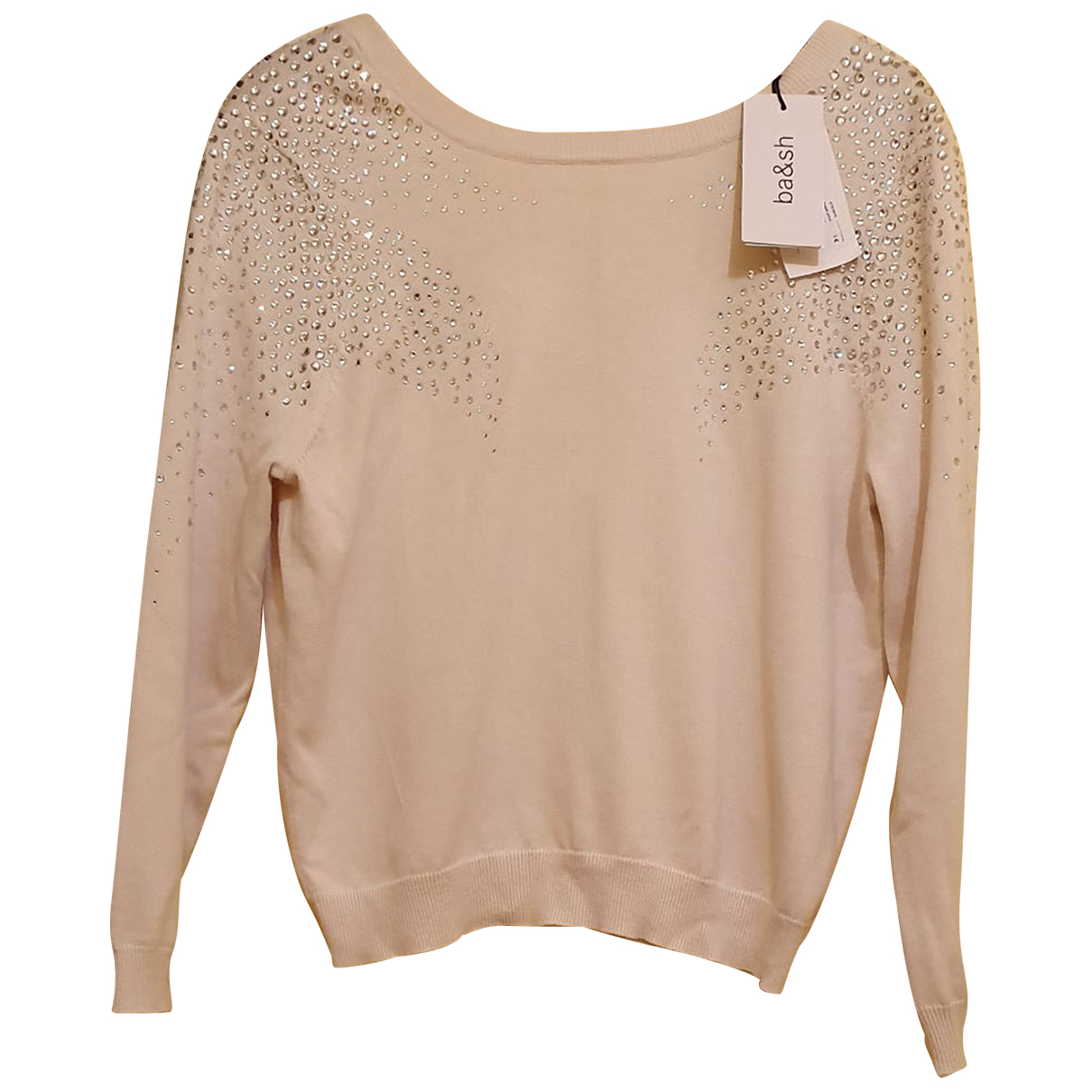 Ba&sh Fall Winter 2019 Ecru Cotton Knitwear for Women 36 FR
