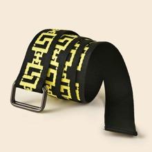 Cinturon con cinta con hebilla